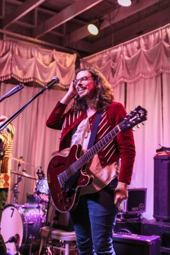 Ty Richards performs at his album release party at Swan Dive on Friday, Feb. 3. / Photo credit: Patrick Nye